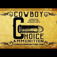 Cowboy Choice Ammunition