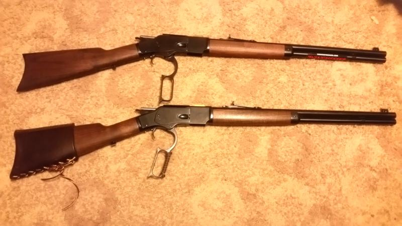 Winchester (Miroku) 66 Yellowboy vs 73 44-40? - SASS Wire