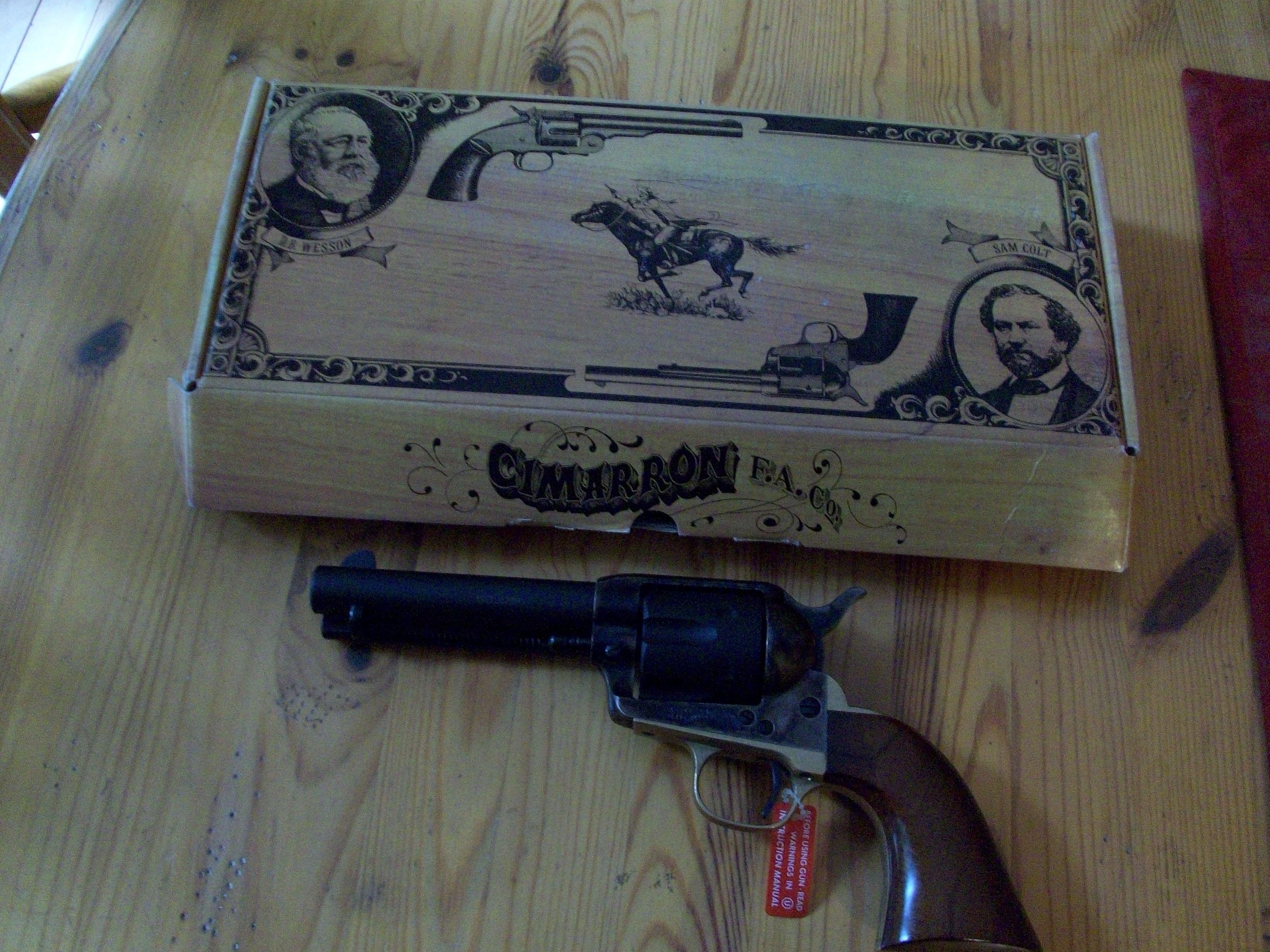 SOLD FS BNIB Cimarron Pistolero 4 5 357 - SASS Wire