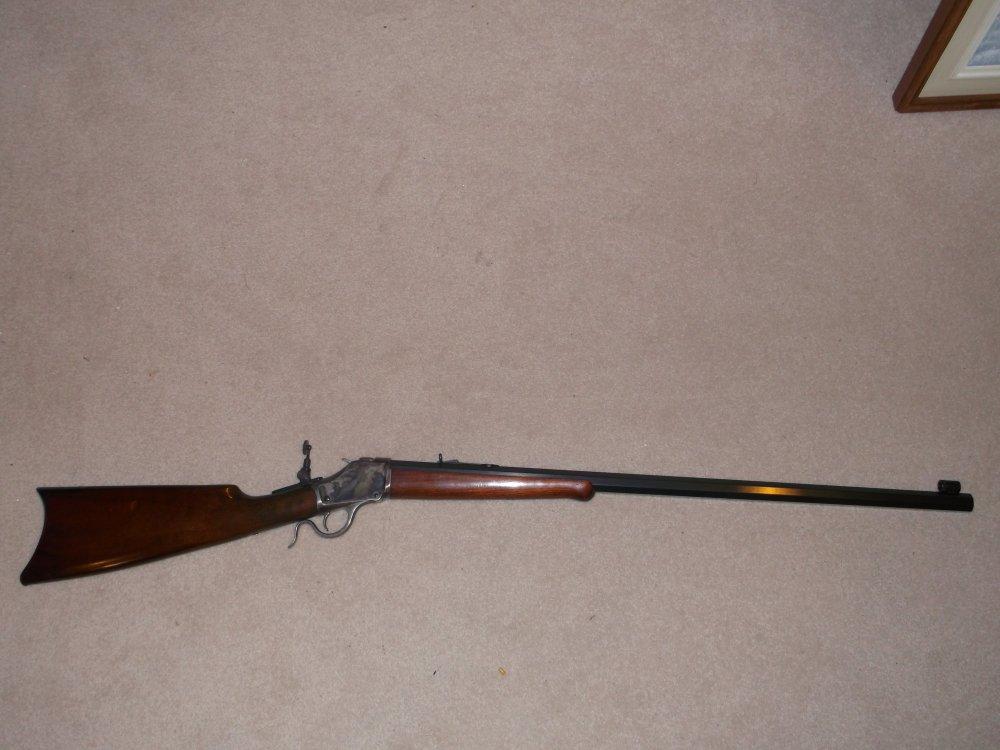1885 Hiwall in .45-70 with Lyman sight 015.JPG