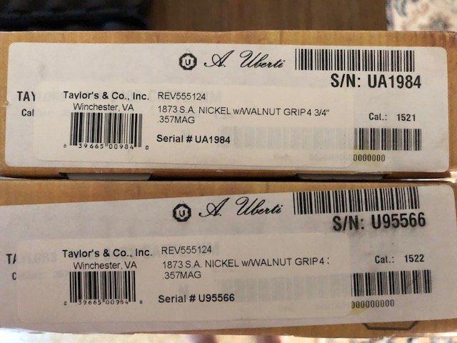 Uberti 1873 SSA Revolvers for Sale - Boxes.jpg