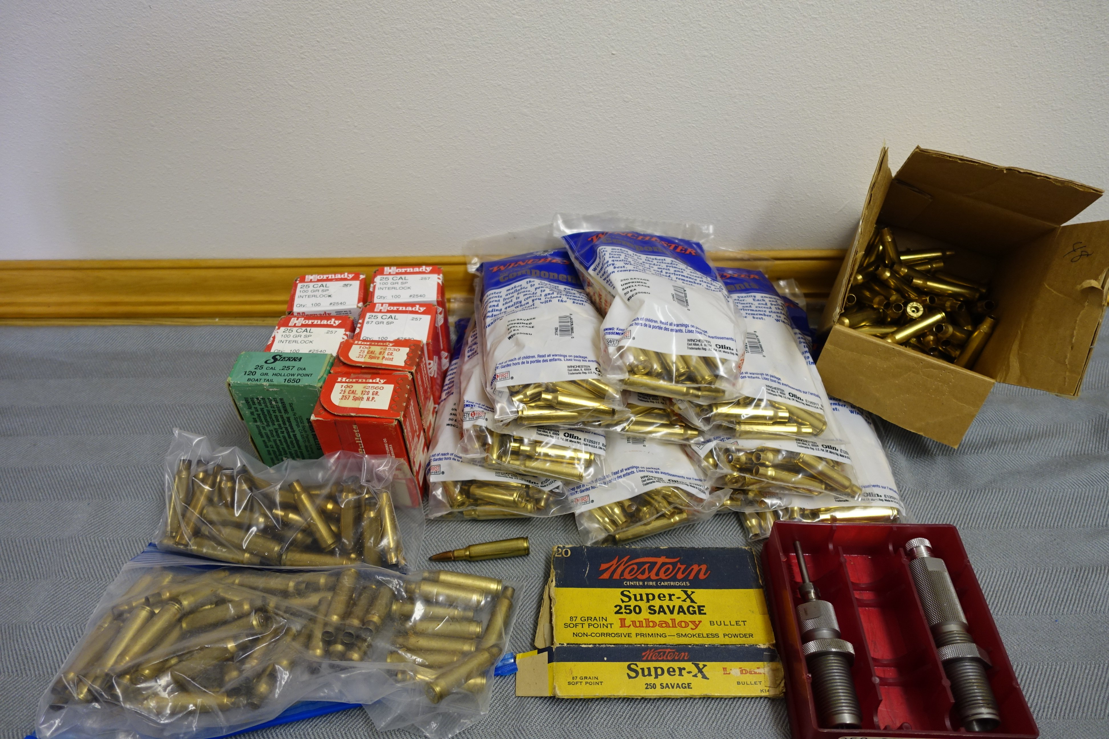 FS 250 Savage (250-3000) reloading components PRICE REDUCED