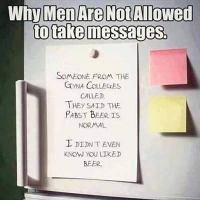 Men should not take messages.jpg