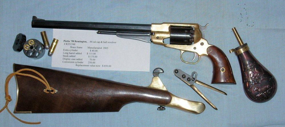 8a Long barrel '58 - stock - extras.JPG