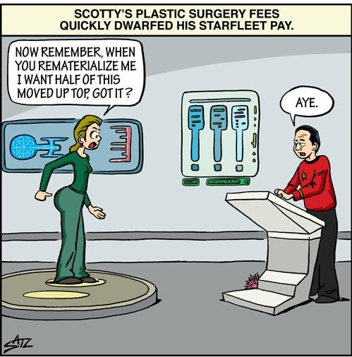 Cartoon, Star Trek, Scotty plastic surgery.JPG