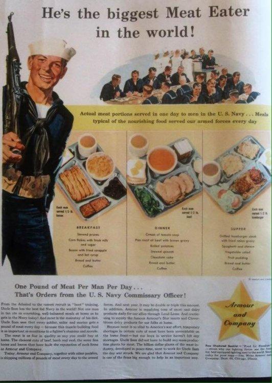 WW2 propaganda, Armor & Co Meat In The Service.jpg