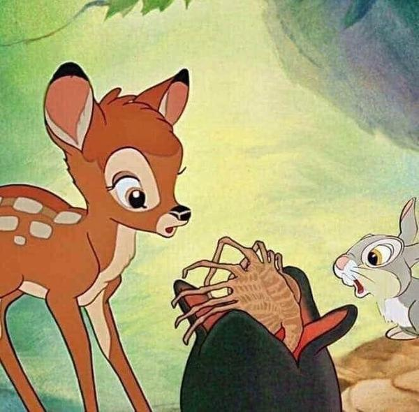 Bambi Thumper and the pod critter.jpg