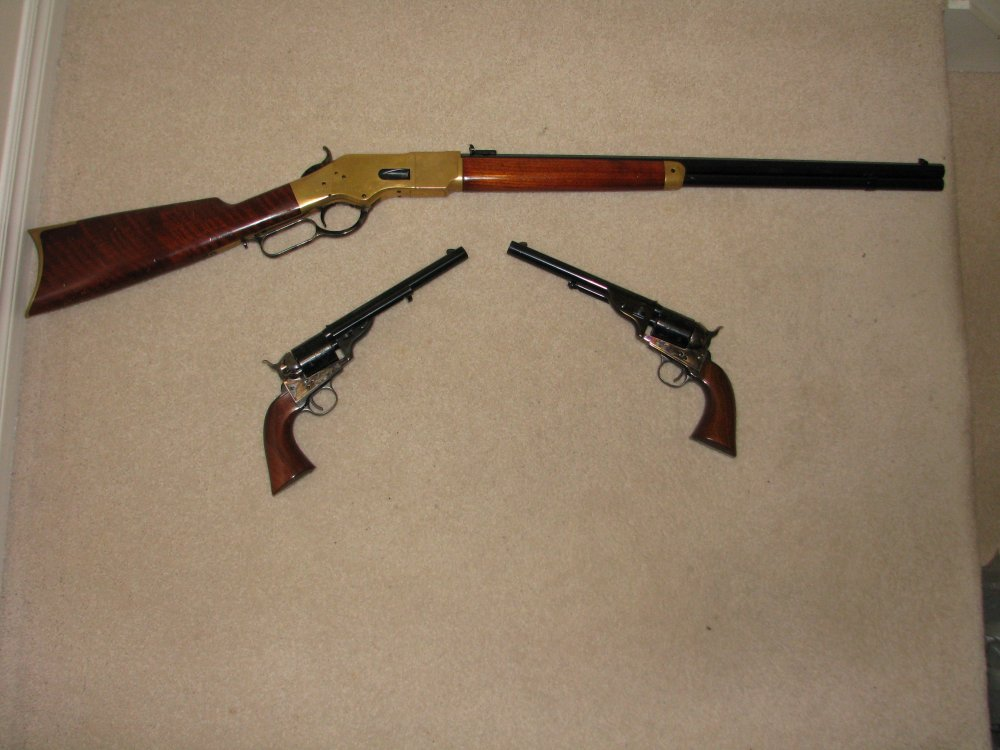 Open tops with 1866 Yellow Boy all in 45 Colt Classic Cowboy Guns 001 (3).JPG